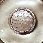"""""""The Gift of Eliz: Perkins Widon [sic] and Relict [sic] of German Perkins late Vicar of this Church 1735"""" Just don't ask which church!"""
