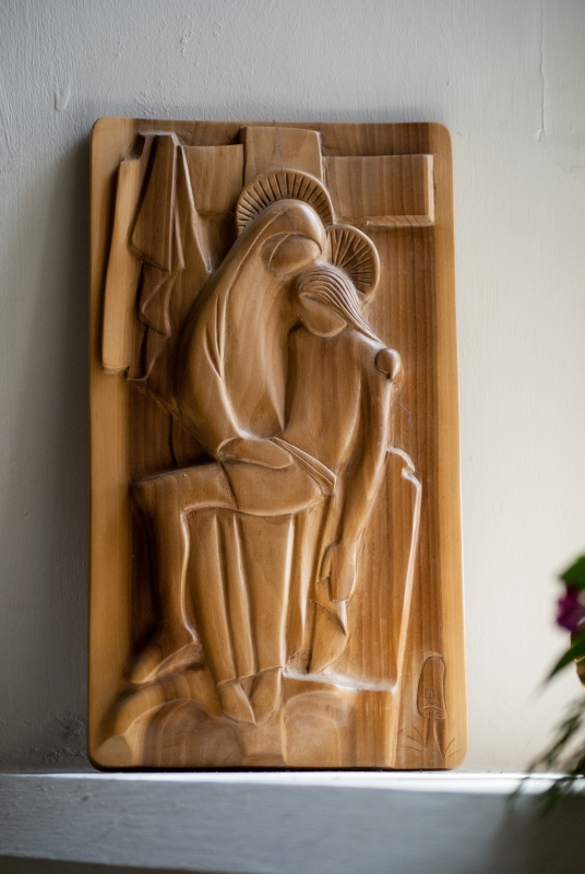 Another carving in full view. Again where is it?